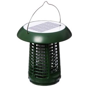 NK63 Solar-Powered UV Bug Zapper, Insect Killer & LED Garden Lamp Included UL Adapter
