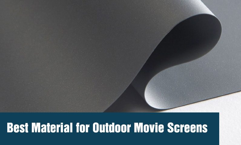 image of a material for Outdoor Movie Screens
