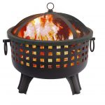 Best Landmann 26364 23-1/2-Inch Savannah Garden Light Fire Pit
