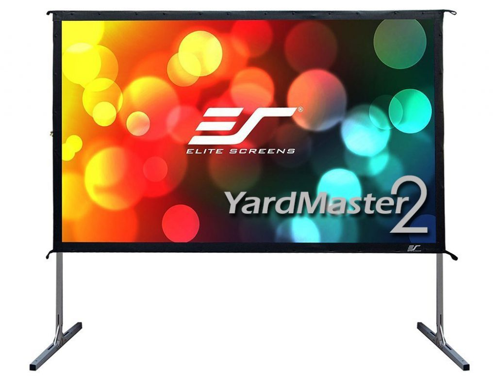 Elite Screens Yardmaster 2 on a white background