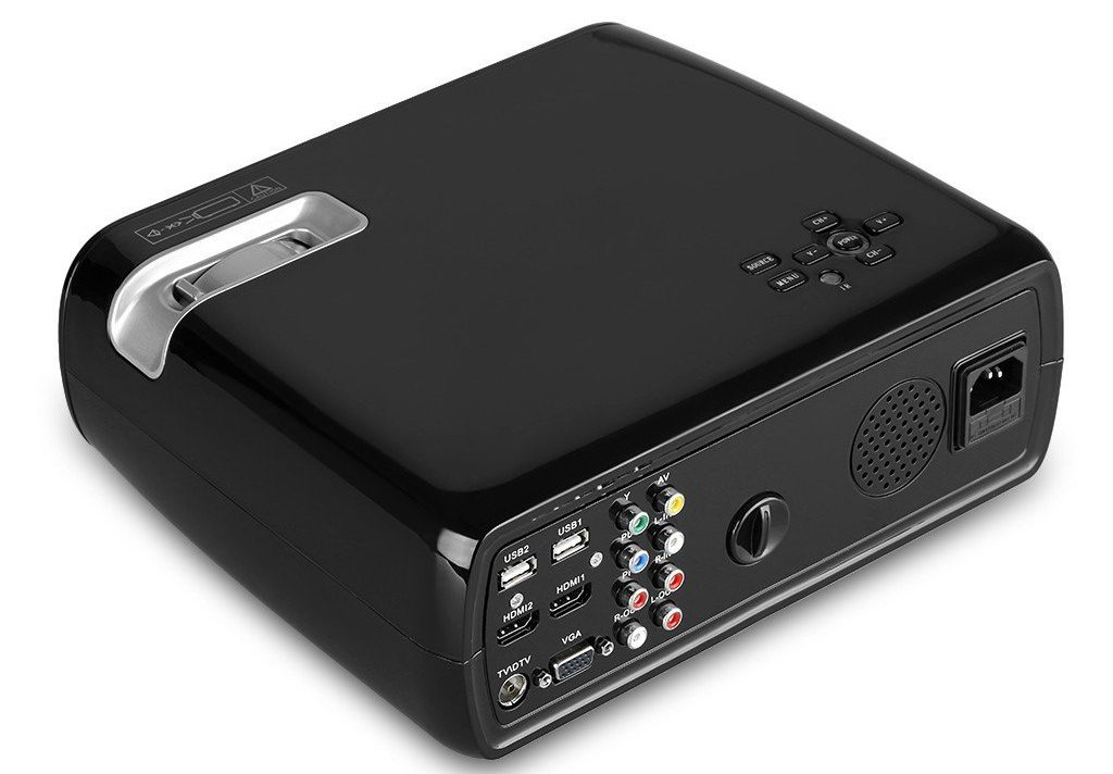 Uhappy Mini Home Theater Projector