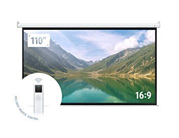 "Homegear 110"" HD Motorized 16:9"