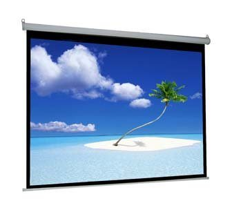 image of the VIVO 100' Electric Projector Screen