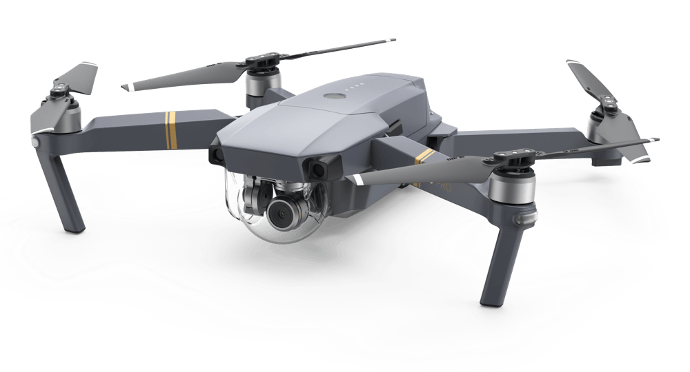 image of the front of the DJI Mavic
