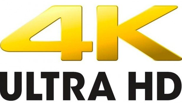 picture of a 4k ultra hd logo