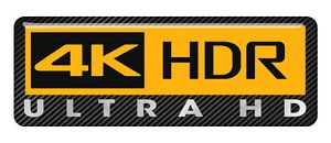 picture of a 4k HDR ultra HD logo