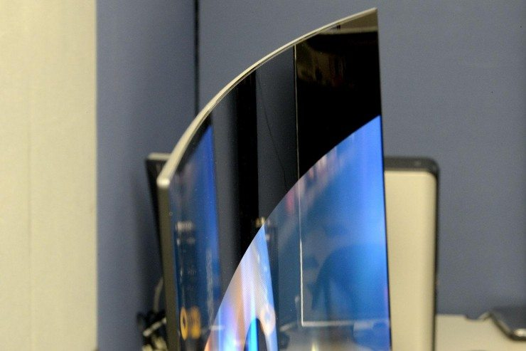 image of a Curved Tv