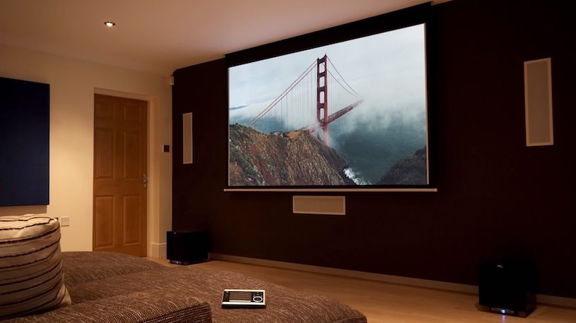 Projector Screen for Home Theater