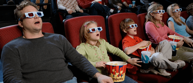 3d movie theater