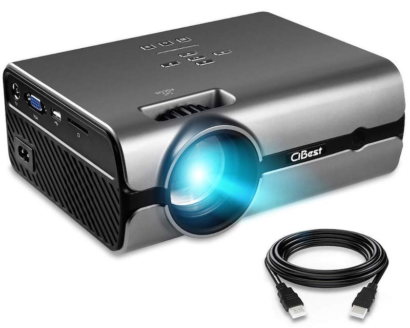 CiBest projector with cable