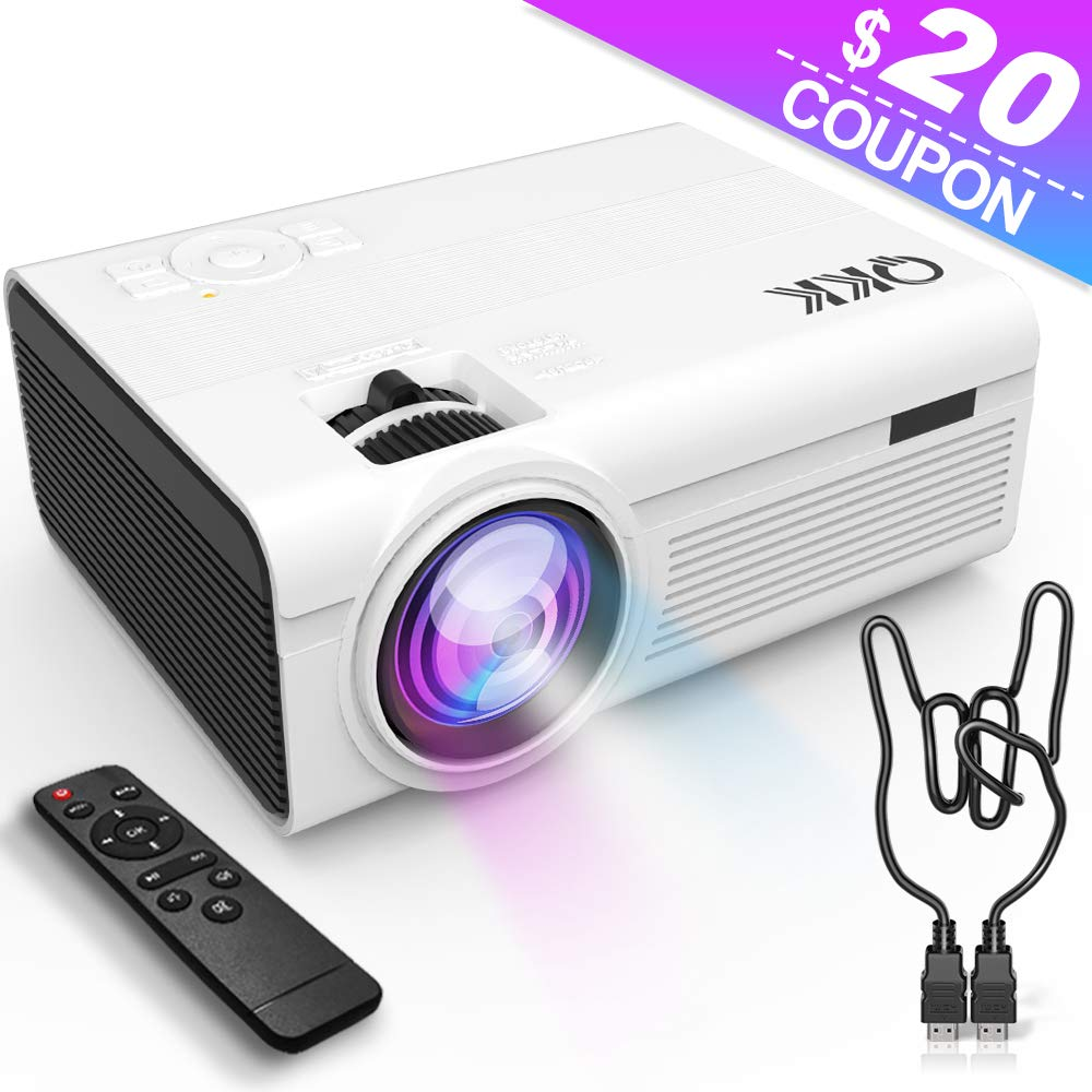 QKK 2400 Lumens Mini Projector