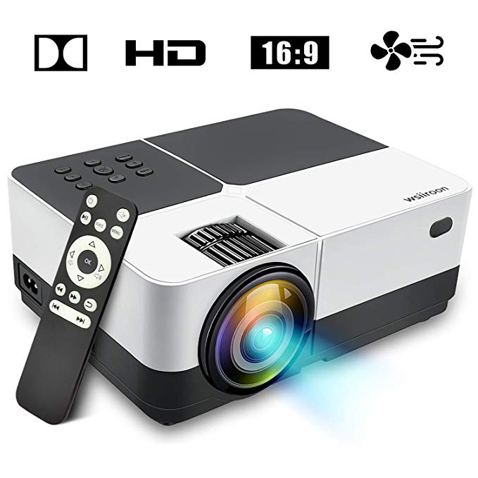 Wsiiroon 2019 LED projector