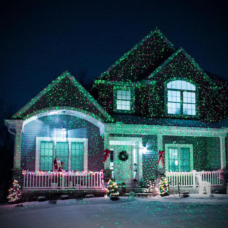 ​Star Shower decorated on the house