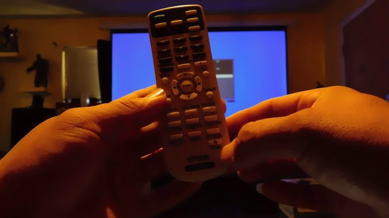 Epson Home Cinema 2045 remote control