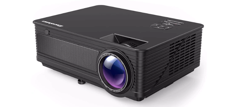 Excelvan M5 Projector featuring