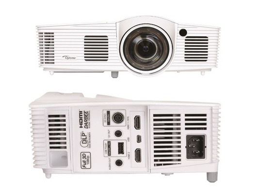 GT1080Darbee projector front and rear view