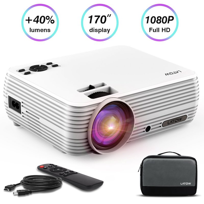 LATOW Mini Portable 3D Projector