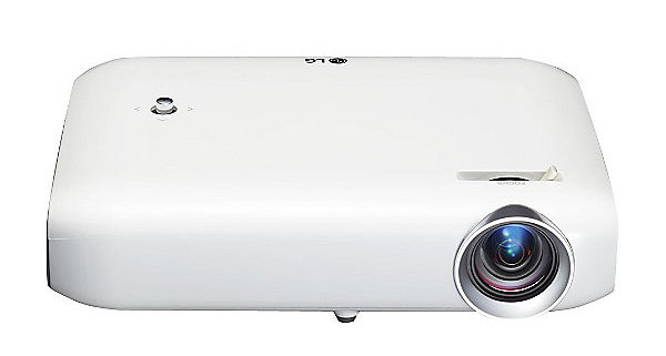 LG PH550 projector frontview