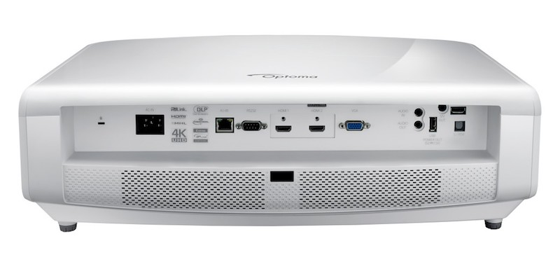 Optoma UHD60 projector rearview