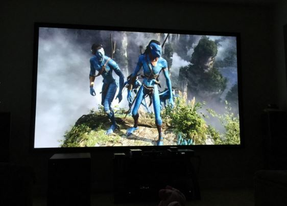Sony VPL-HW45ES actual viewing