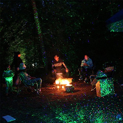 Starry Laser Lights Projector Light while camping