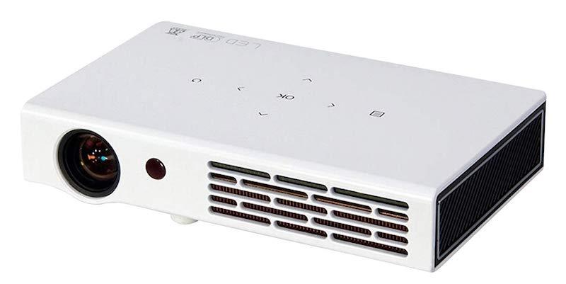 ZAZZ DLP LED Portable Multimedia Short Throw Projector