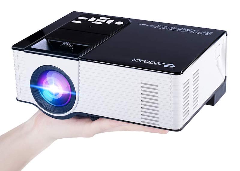 Zeacool Home Theater Video Projector
