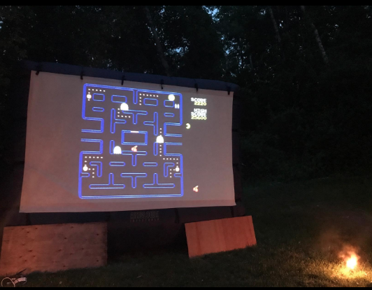 epson 2045 pacman game