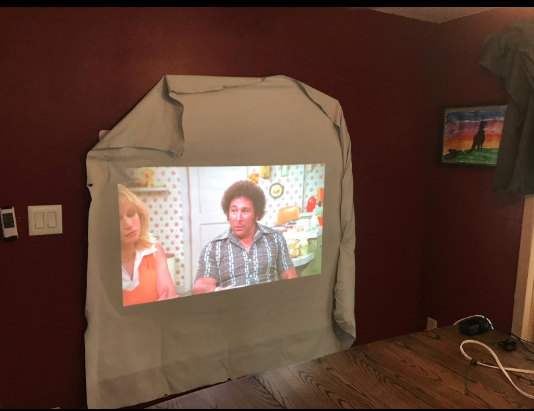 epson 2045 viewing in wall