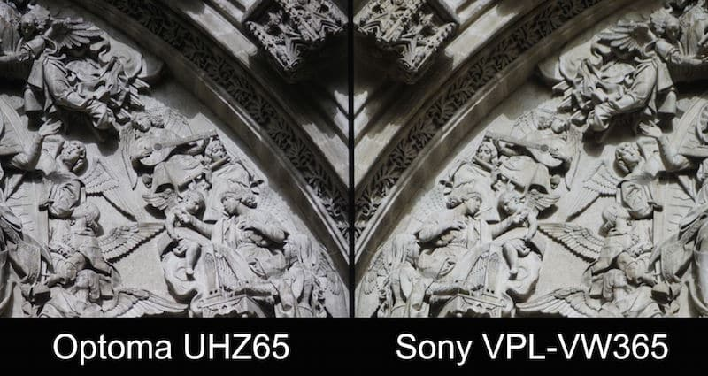 optoma-uhz65-vs-sony-vpl-vw365