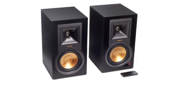 Klipsch R-15PM Speakers With A Remote