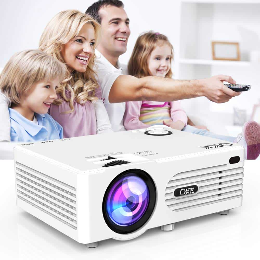 Vankyo Leisure 3QKK Mini Projector Multi-Media