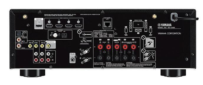 Yamaha RX-V485 Receiver Back