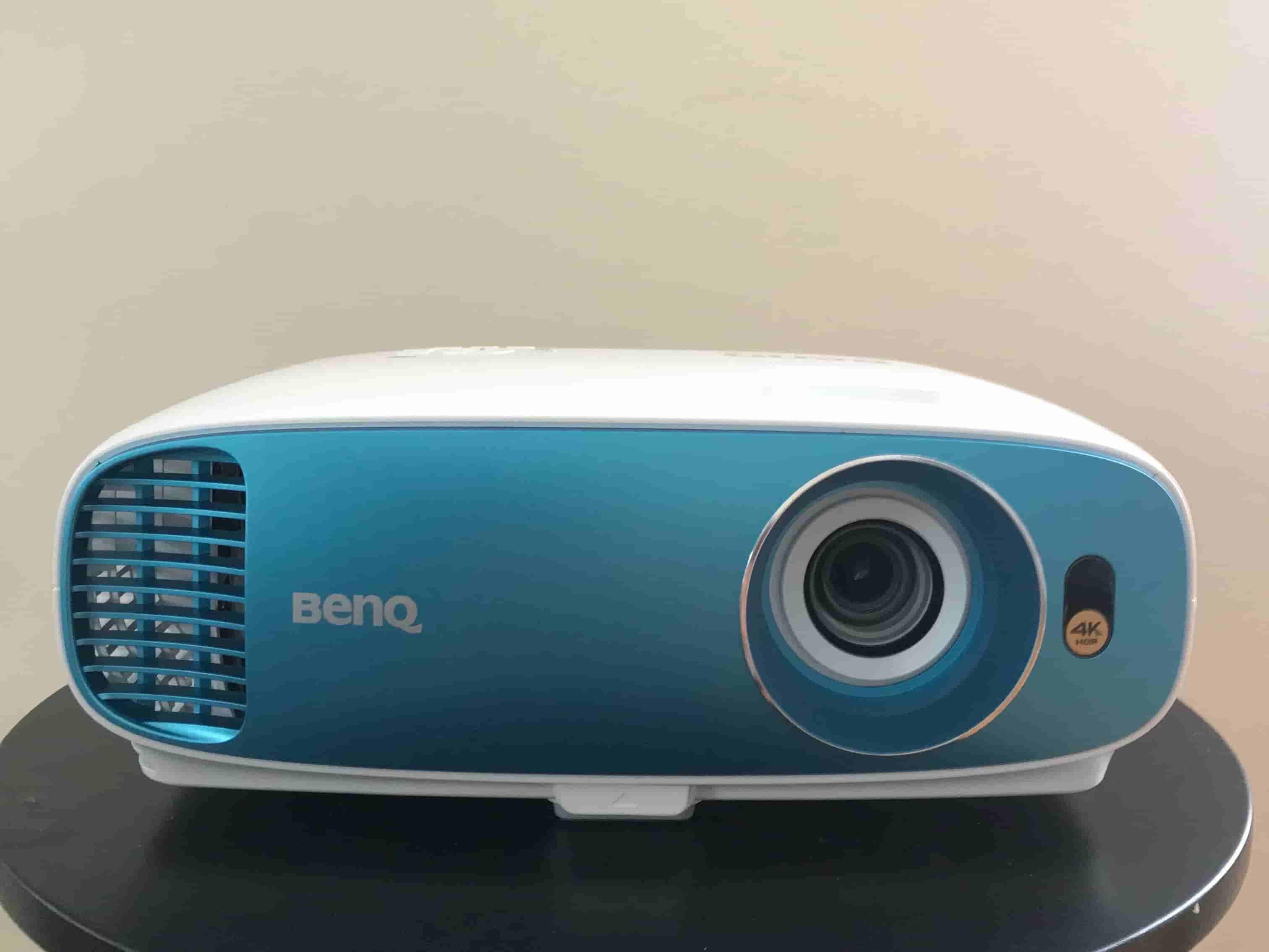 BenQ TK800M 4K Sports Projector front on the table