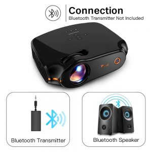 RAGU Z498 Mini Projector Bluetooth Connection