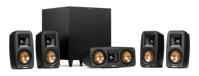 Klipsch Black Reference Theater Pack 1