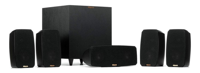 Klipsch Black Reference Theater Pack 2