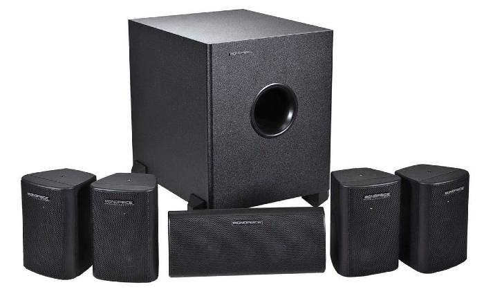 Monoprice 5.1 Home Theater System 1