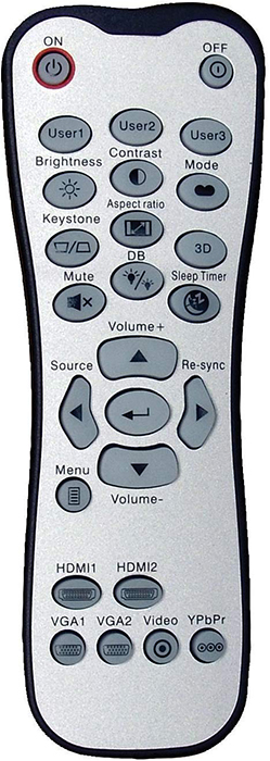 Optoma-HD142X-remote-control
