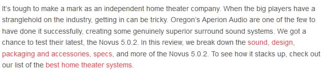 Aperion Audio Novus 5.0.2 Review intro