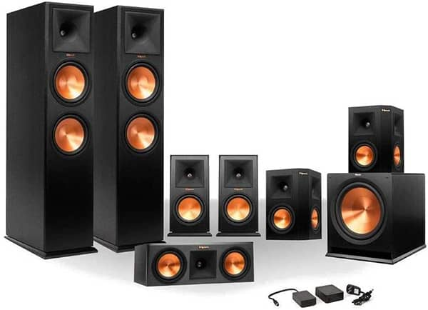 Klipsch RP-250 7.1 Reference Series 7.1 home theater system