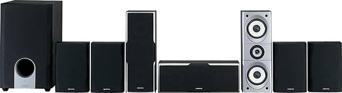 Onkyo SKS - HT540 7.1 home theater system 1