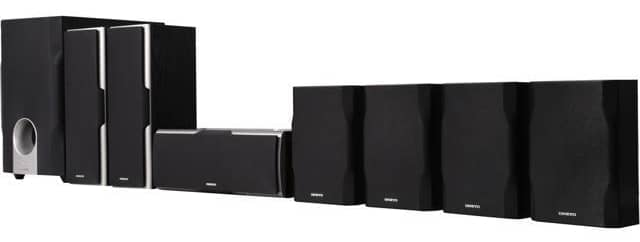 Onkyo SKS - HT540 7.1 home theater system 2