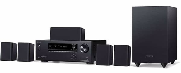 Onkyo SKS-HT870 7.1 home theater system 2