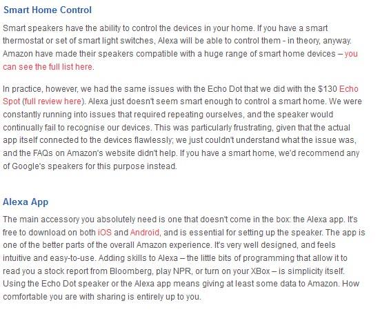 Amazon Echo Dot smart home control Alexa app