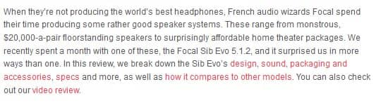 Focal sib Evo system review intro
