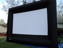 LOCH 200″ diagonal 16:9 Inflatable Projection Screen