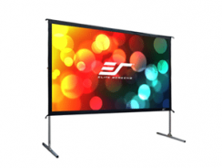 Elite Screens Yard Master 2, 135-inch 16:9, Foldable Outdoor Front Projection Movie Projector Screen