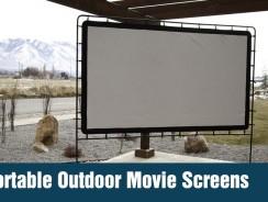 Portable Outdoor Movie Screens